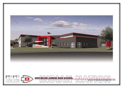 First Look At The New Biloxi Junior High